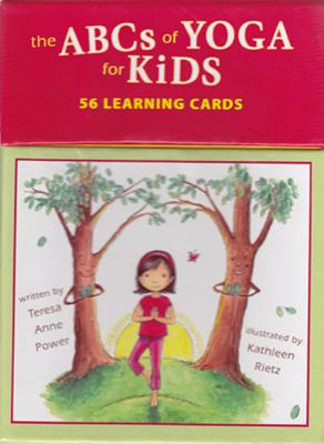 The Abcs of Yoga for Kids Learning Cards By Power, Teresa Anne/ Rietz, Kathleen (ILT)